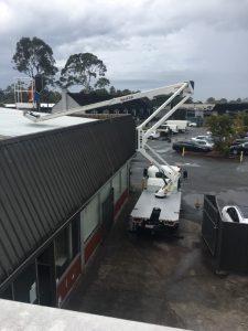 Cherry Picker Hire Roof Inspection Brisbane